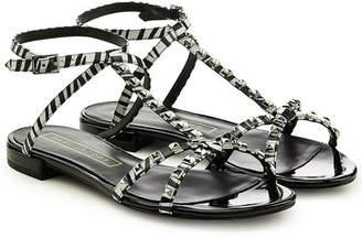 Marc Jacobs Embellished Leather Sandals