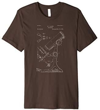 Vintage Patent Print 1886 Microscope T-Shirt
