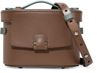 Nico Giani - Frerea Mini Two-tone Leather Shoulder Bag - Chocolate