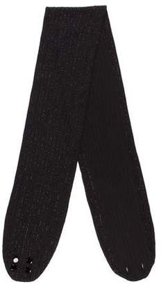 Ralph Lauren Embellished Wool Scarf