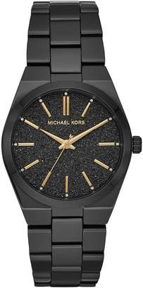 Michael Kors Channing Three-Hand Black MK6625 Stainless Steel Watch