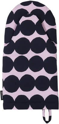 Marimekko Rasymatto Oven Glove - Pink/Dark Blue