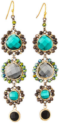 Nakamol Graduated Crystal Drop Earrings