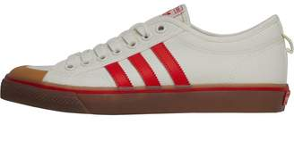 adidas Mens Nizza Trainers Off White Core Red Gum 4 4160d0a79