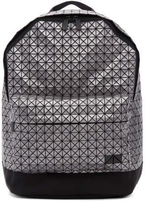 Bao Bao Issey Miyake Silver Daypack Backpack