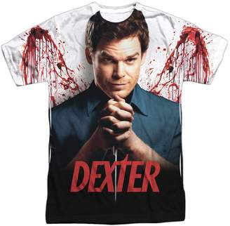Dexter 2Bhip Horror Crime Drama Television Series Bloody Wings Adult Front Print Tee
