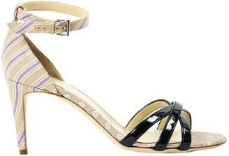 Philosophy di Alberta Ferretti Cloth Sandals
