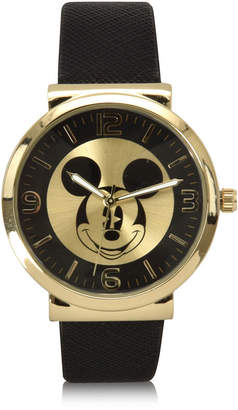 DISNEY MICKEY MOUSE Disney Mickey Mouse Black Bracelet Unisex Watch-Mk5058jc