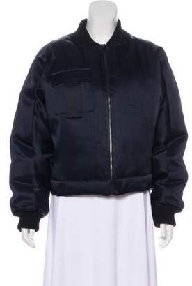 Diane von Furstenberg Down Bomber Jacket