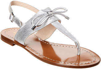 Kate Spade Leather Bow Thong Sandal