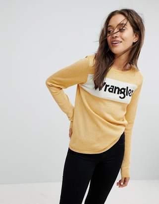 Wrangler Sparkle Logo Knit