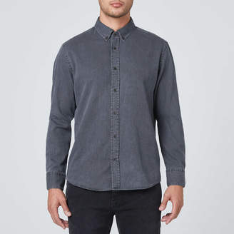 DSTLD Classic Button Down Shirt in Grey