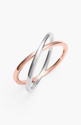 Women's Bony Levy 14Kt Crossover Open Ring (Nordstrom Exclusive) $450 thestylecure.com