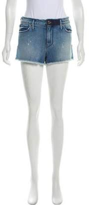RtA Denim Distressed Denim Shorts