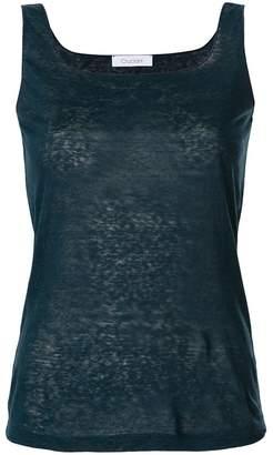 Cruciani square neck vest