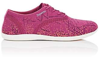 Repetto WOMEN'S TECH-KNIT OXFORD SNEAKERS - PINK SIZE 12