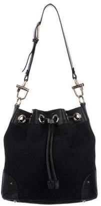 Gucci GG Horsebit Cinch Bucket Bag