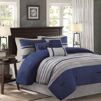 Dakota Home Essence 7-Piece Microsuede Comforter Set