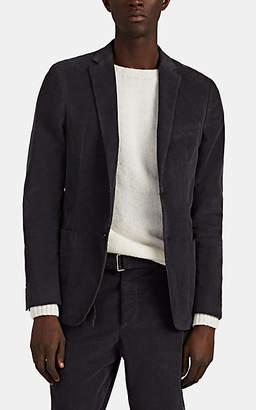 Officine Generale Men's Unstructured Corduroy Two-Button Sportcoat - Dark Gray