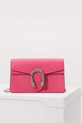Gucci Dionysus velvet super mini bag with crystals