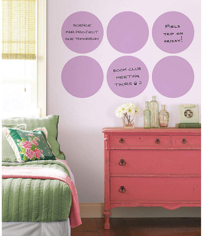 Brewster Wall Wall Pops Dry Erase Dots Wall Decals