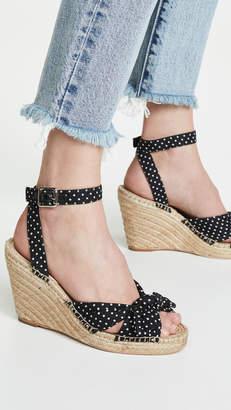7293ca0461 Loeffler Randall Black Wedge Women's Sandals - ShopStyle