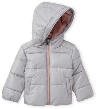 MICHAEL Michael Kors Infant Girls) Pearl Hooded Basic Puffer Jacket