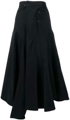 J.W.Anderson asymmetric midi skirt