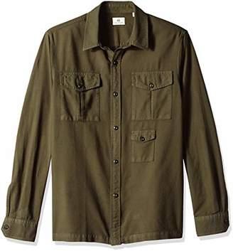 AG Adriano Goldschmied Men's Pioneer TRI-Pocket Shirt