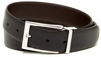 Boconi Reversible Textured Leather Belt