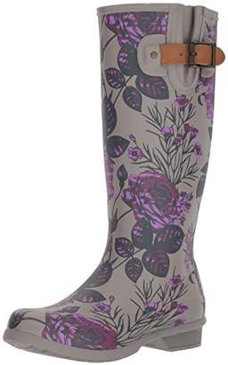Chooka Women's Tall Memory Foam Rain Boot