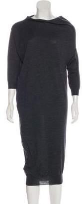 Lanvin Wool Sweater Dress