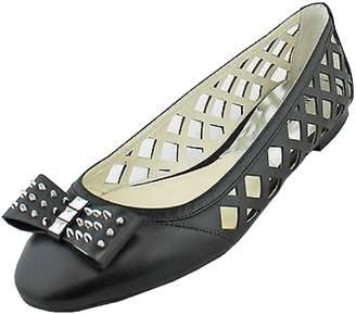 Michael Kors Larissa Ballet Womens Size 8.5 Leather Ballet Flats Shoes