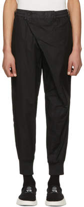 Y-3 Black Poplin Trousers