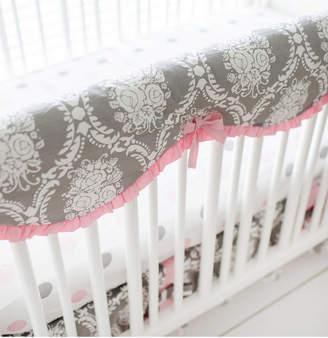 My Baby Sam Olivia Rose Crib Rail Cover Bedding