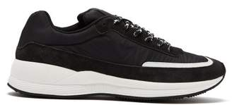 A.P.C. Running Low Top Trainers - Mens - Black