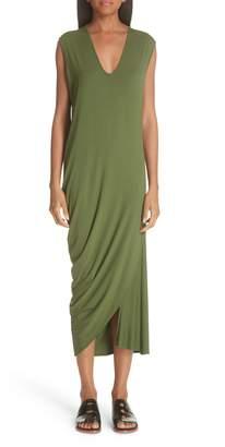 Zero Maria Cornejo Curve Lui Draped Jersey Dress