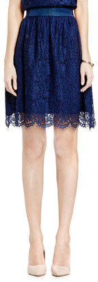 Vince Camuto Scalloped Lace Skirt $139 thestylecure.com