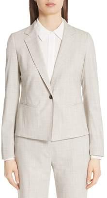 Max Mara Albert Stretch Wool Jacket