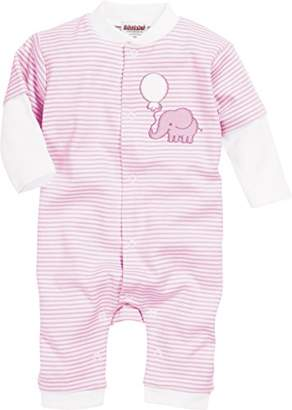 Playshoes Baby Schlafoverall Elefant Sleepsuit,(Size: 56)