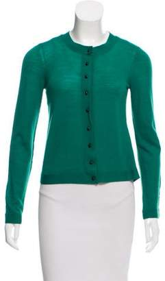Balenciaga Wool Button-Up Cardigan