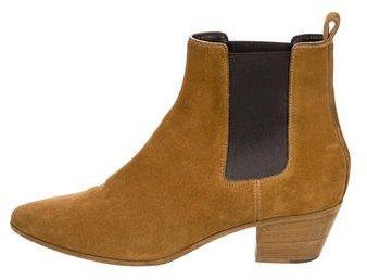 Saint LaurentSaint Laurent Suede Chelsea Boots