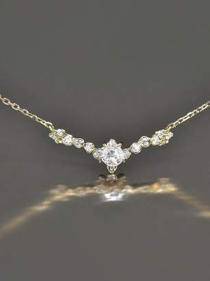 Kataoka White Diamond Arc Necklace