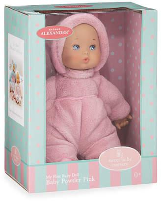 """Madame Alexander Dolls 12"""" My First Baby Doll, Powder Pink"""