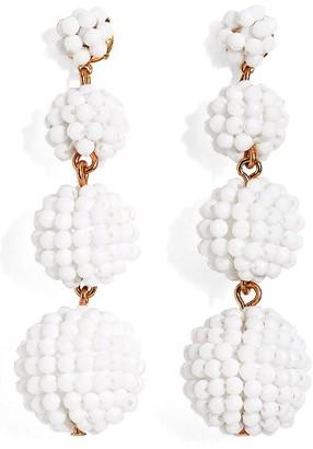 J.Crew Women's Beaded Ball Drop Earrings
