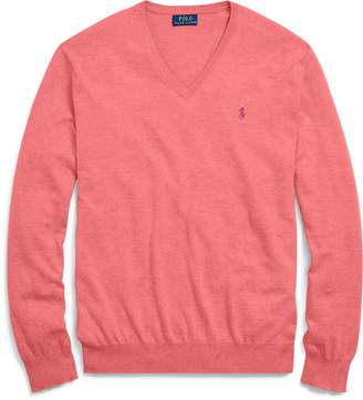 Ralph Lauren Slim Fit Cotton V-Neck Sweater