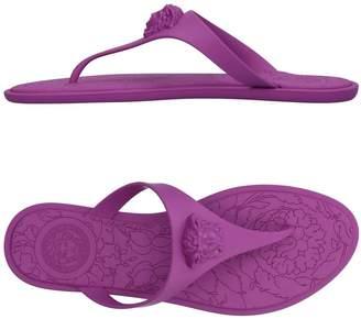 Versace Toe strap sandals