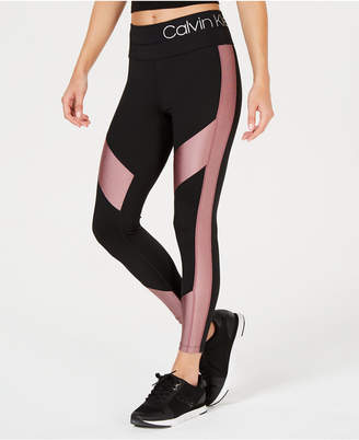 Calvin Klein High-Waist Colorblocked Leggings