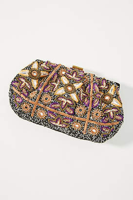 Anthropologie Paloma Beaded Clutch