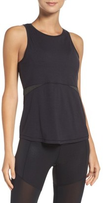 Women's Zella Cut Both Ways Performance Tank $45 thestylecure.com